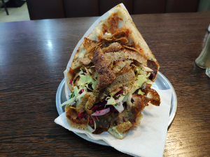 Mehas Döner with meat